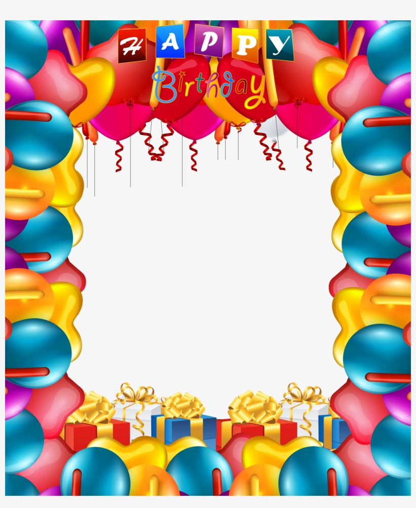 Happy Balloons Png Frame Gallery View Full Happy