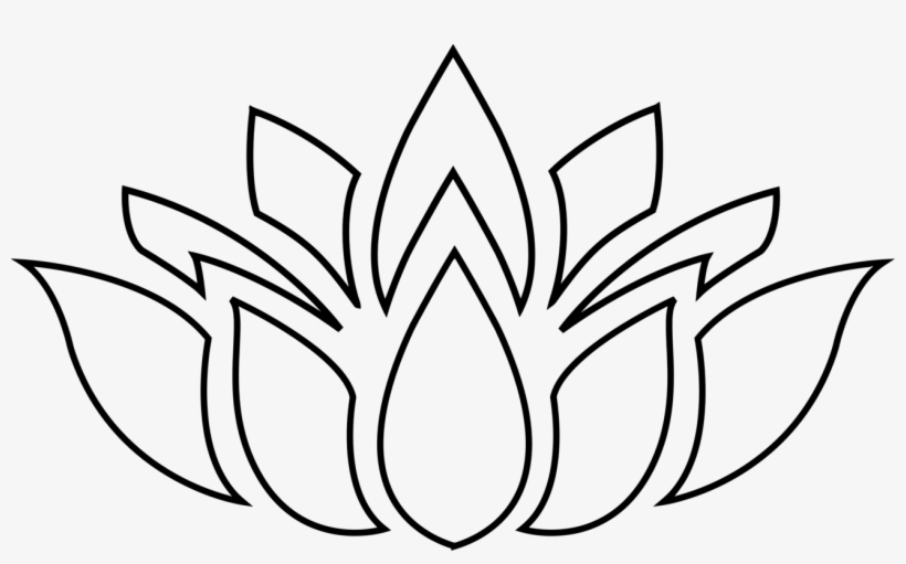 Graphic Freeuse Onlinelabels Clip Art Silhouette Lotus Flower