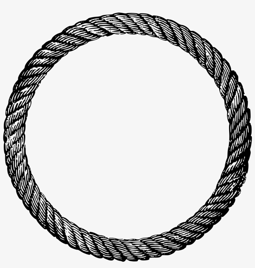 Clipart Circle Border Rope Png Image Transparent Png Free Download On Seekpng