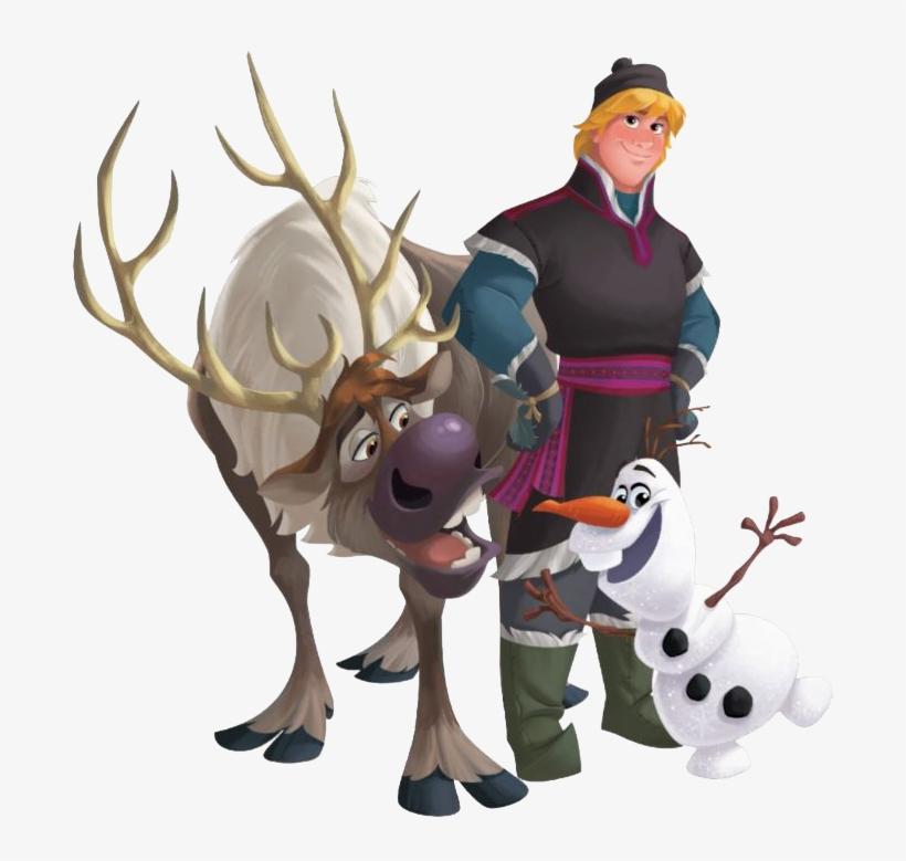 Disney Frozen Clipart Imagenes De Olaf Kristoff Sven Png Image