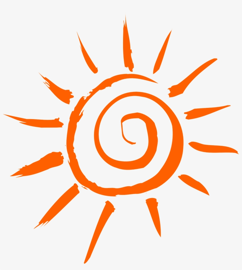 A Moment's Sunlight - Simple Sun PNG Image | Transparent PNG Free