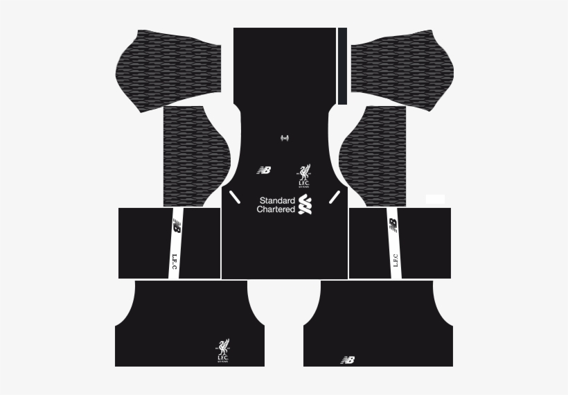 free shipping 27a8c 9dc2f Liverpool Goalkeeper Away Kit Dream League Soccer 2017-2018 ...