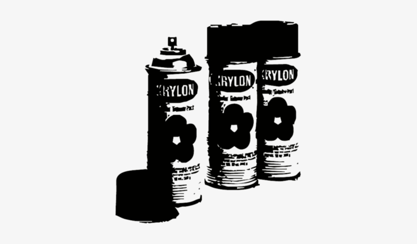 Spray Paint Cans - Vector Spray Paint Can PNG Image | Transparent