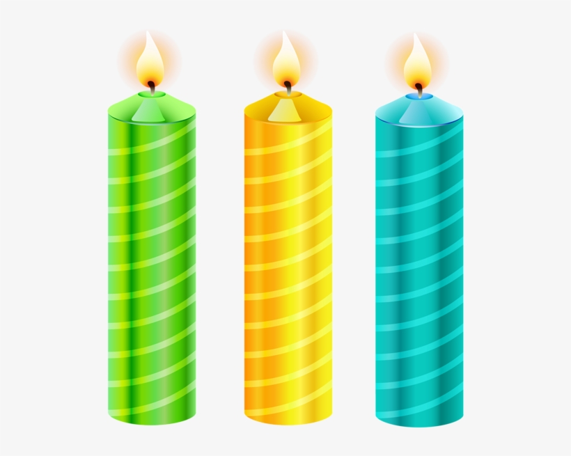 564 X 600 4 Happy Birthday Candles Png Png Image Transparent Png Free Download On Seekpng