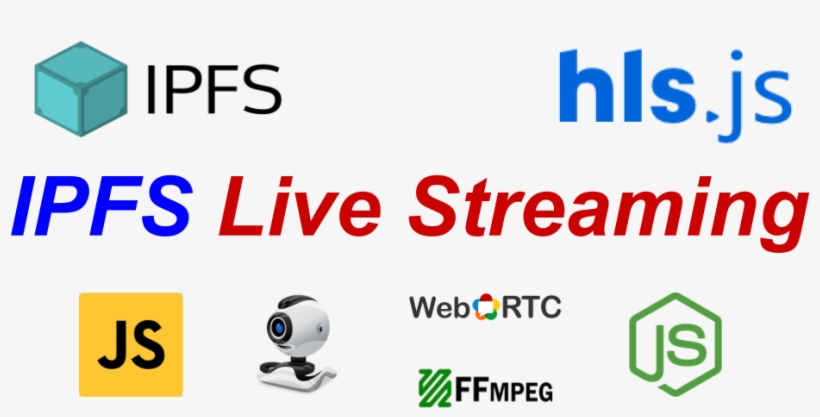 Streaming With Ipfs - Webrtc PNG Image | Transparent PNG