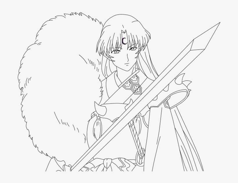 Halloween Coloring Pages: Inuyasha and Kagome Coloring Pages ... | 632x820
