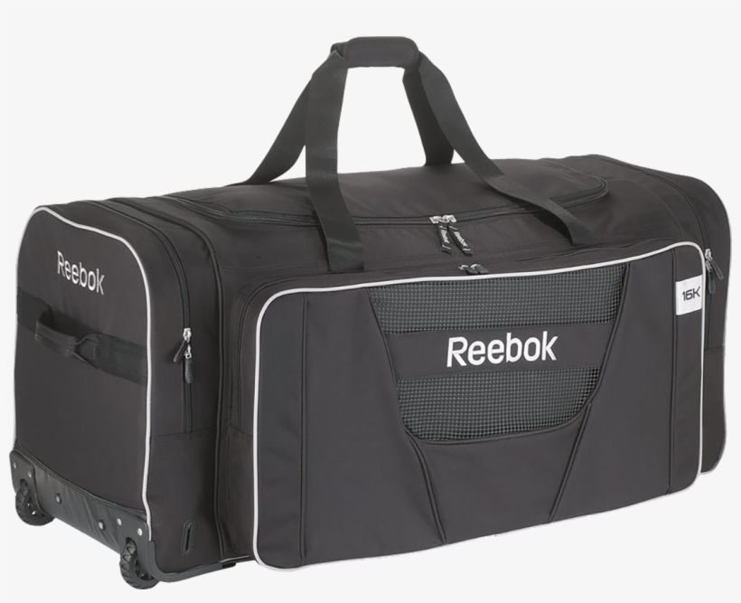 Dentro argumento observación  Reebok 16k Deluxe Wheeled Hockey Bag Size Large 11536 - Reebok Wheeled Hockey  Bags PNG Image | Transparent PNG Free Download on SeekPNG