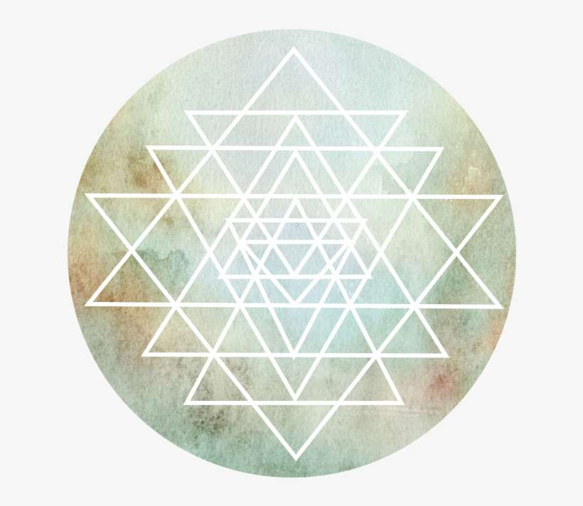 I Have Chosen This Powerful Symbol Of The Sri Chakra - Peach
