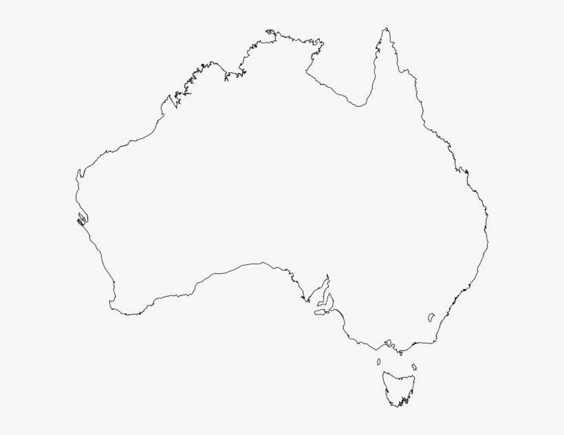 Australia Map Outline Vector.Australian Maps Clip Art Free Vector Australia Map Outline Png Png