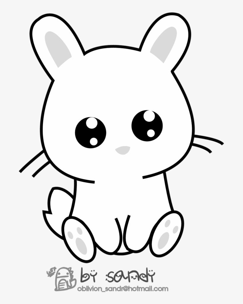 Kawaii Bunny By Sandy Oblivion D48fzrm Bunny Emoji Dibujos De