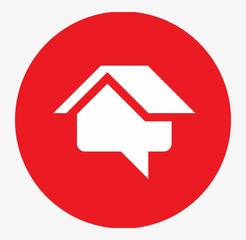 Home Advisor Logo Red Youtube Logo Png Circle Png Image