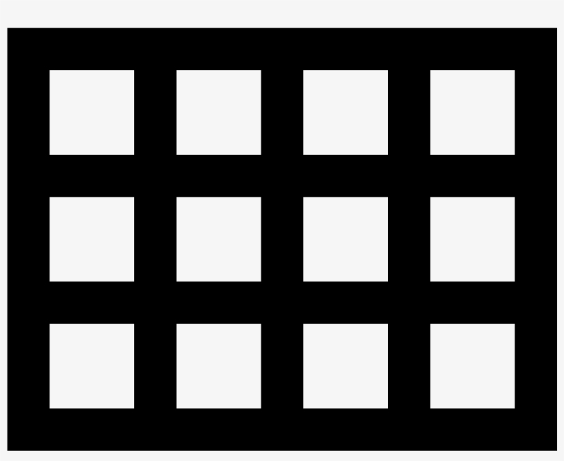 There Is A Square - Grid Icon PNG Image | Transparent PNG Free