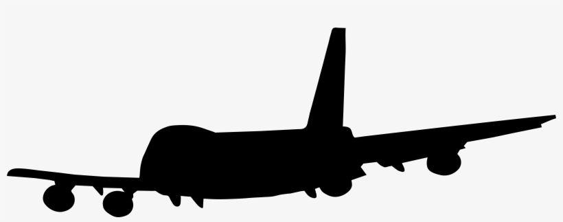 Vector Black And White Download Png Clip Art Image Free Plane