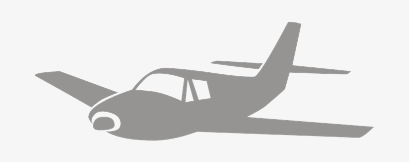 Airplane Silhouette Clip Aircraft Graphic Small Airplane Clipart