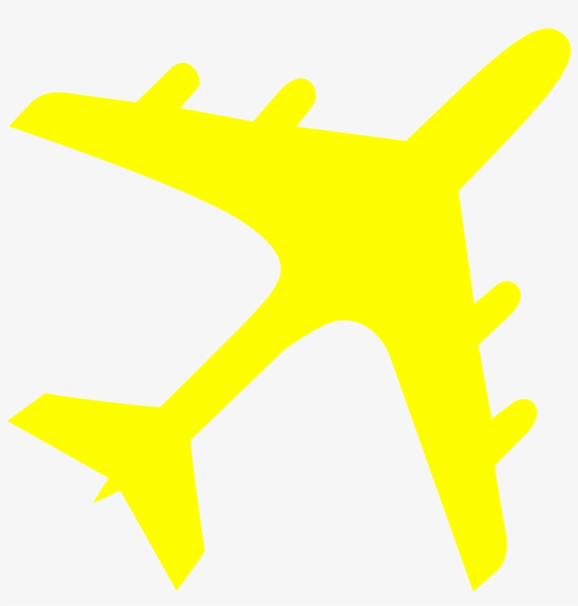 Airplane Clipart Yellow Airplane Plane Icon Png Yellow Png Image