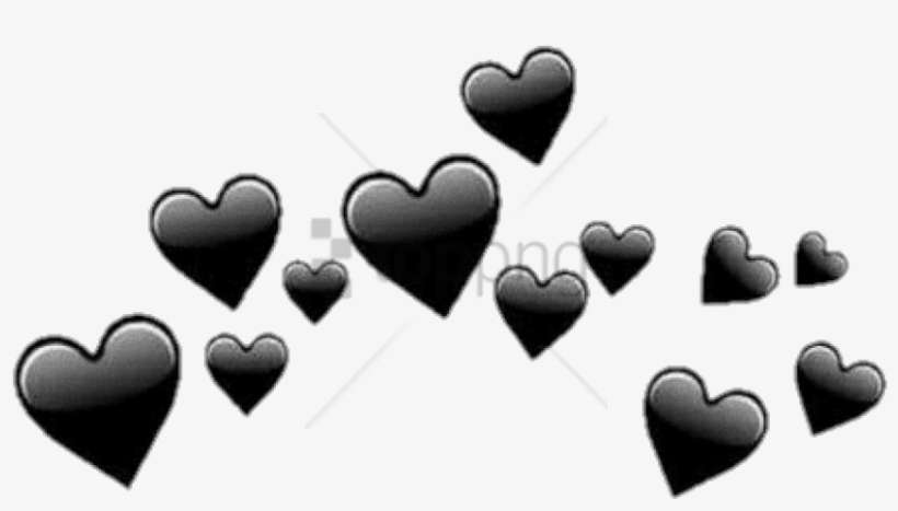 Free Png Black Hearts Tumblr Png Image With Transparent