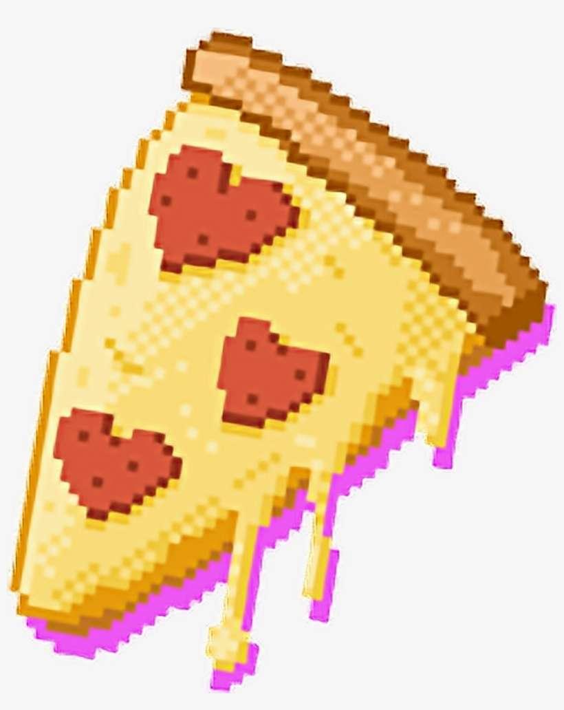 Pizza Kawaii Cute Pixel Pixels Pixelize Pixelart Love Png