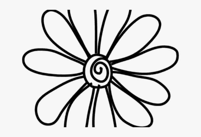 Flower Clipart Doodle Doodle Flower Png Png Image Transparent Png Free Download On Seekpng