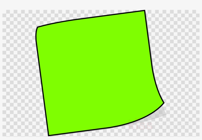 Sticky Note Clip Art Clipart Post It Note Paper Clip Green Post It Note Png Image Transparent Png Free Download On Seekpng