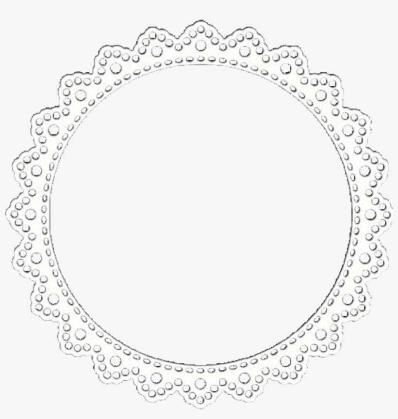 Iconoverlay Doily Mandala White Lace Overlays Editingne