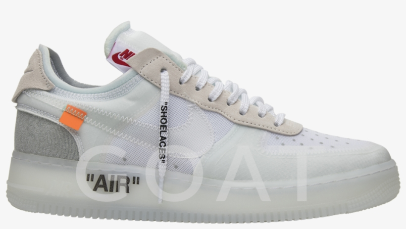 Off White Air Force 1 Goat PNG Image
