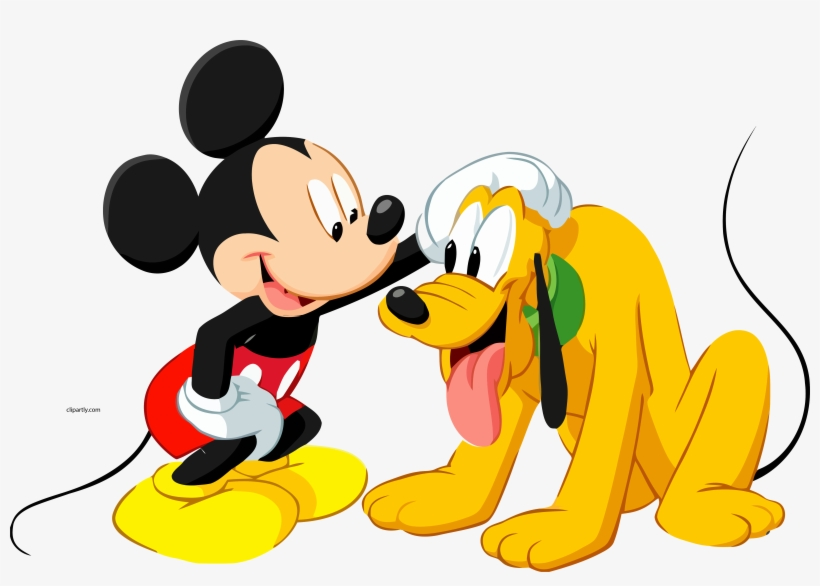 Dog Mickey Disney Mouse Pluto Dog Clipart Png Pluto E Mickey Png