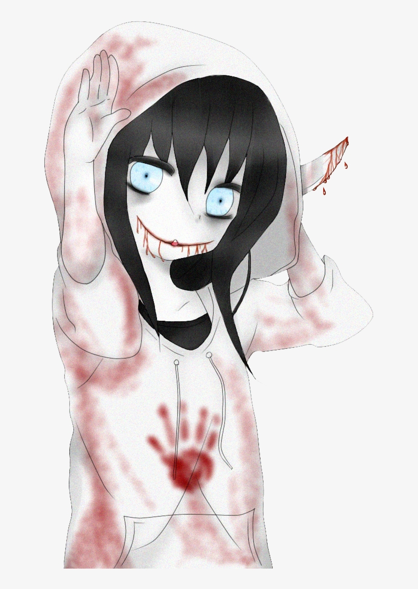 Anime Neko Girl Kawaii Creepypasta - Jeff The Killer かわいい PNG