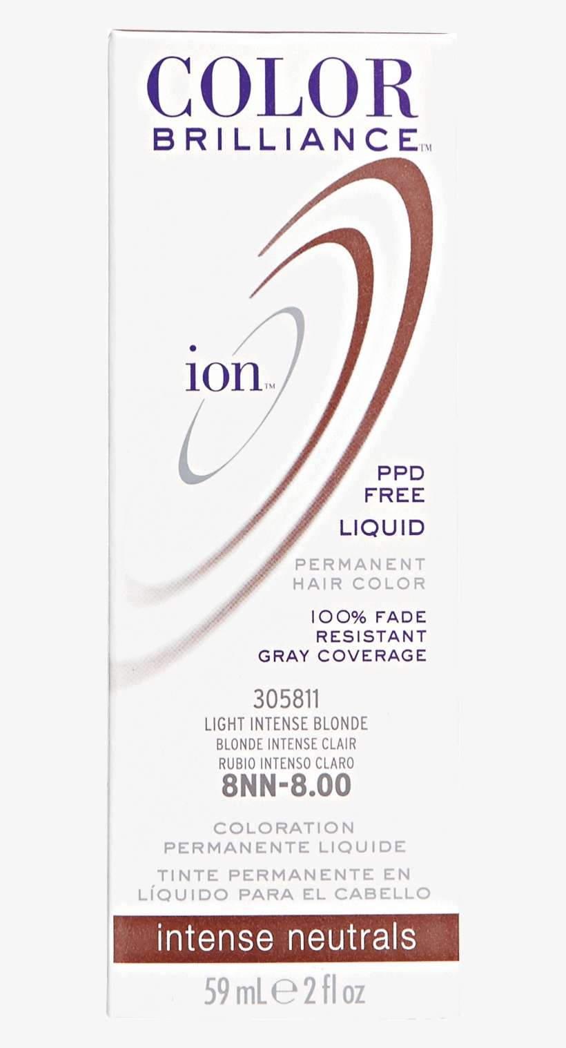 Ion 8nn Light Intense Blonde Permanent Liquid Hair - Hl N Hi Lift Natural Blonde Permanent Liquid Hair Color@seekpng.com