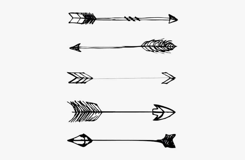 Arrows Tumblr Aesthetic Drawing Instagram Theme Dividers Arrow Png Image Transparent Png Free Download On Seekpng