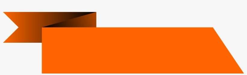 Abstract Vector Rectangle Orange Banner Vector Png Png