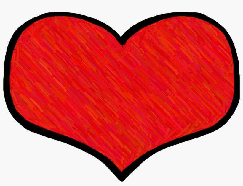 Real Heart Clipart - Heart Cute Red PNG Image   Transparent