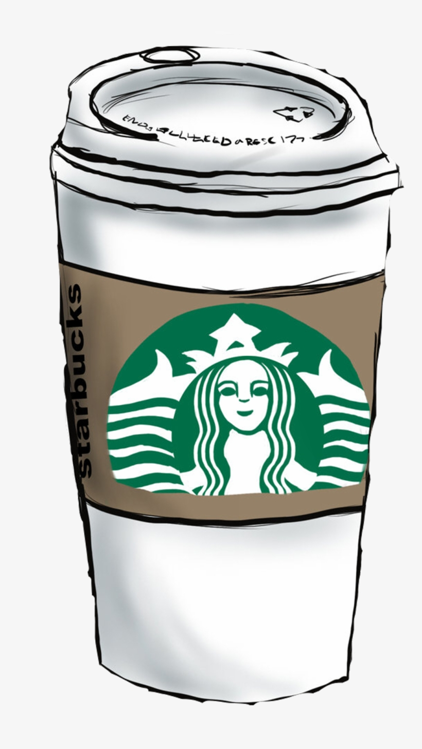 Freetoedot Starbucks Coffee Barista Cup Takeaway Drawing On Starbuck Cups Png Image Transparent Png Free Download On Seekpng
