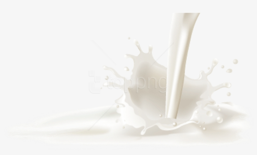 30+ Milk Background Transparent PNG