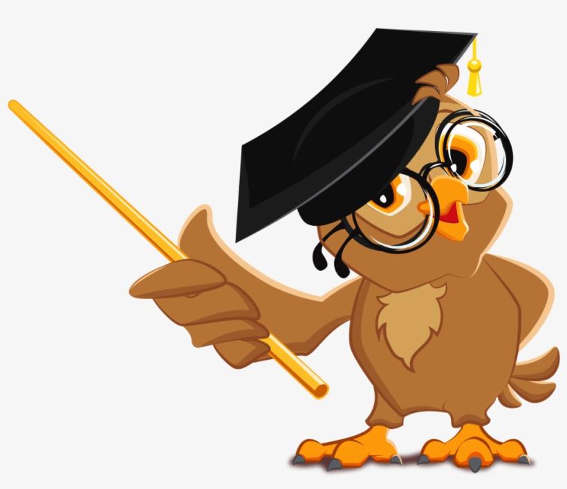 Administration - Owl Teacher Cartoon PNG Image ... (820 x 708 Pixel)
