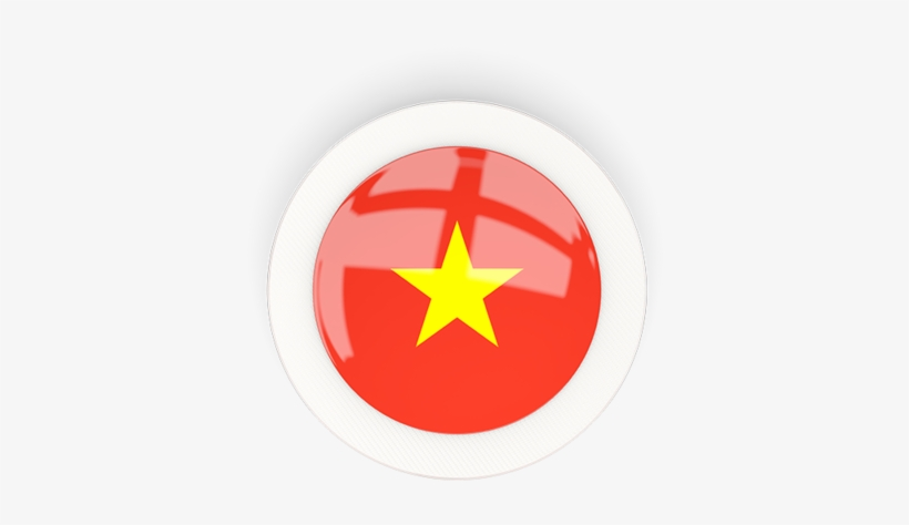 Illustration Of Flag Of Vietnam Circle Png Image Transparent Png Free Download On Seekpng