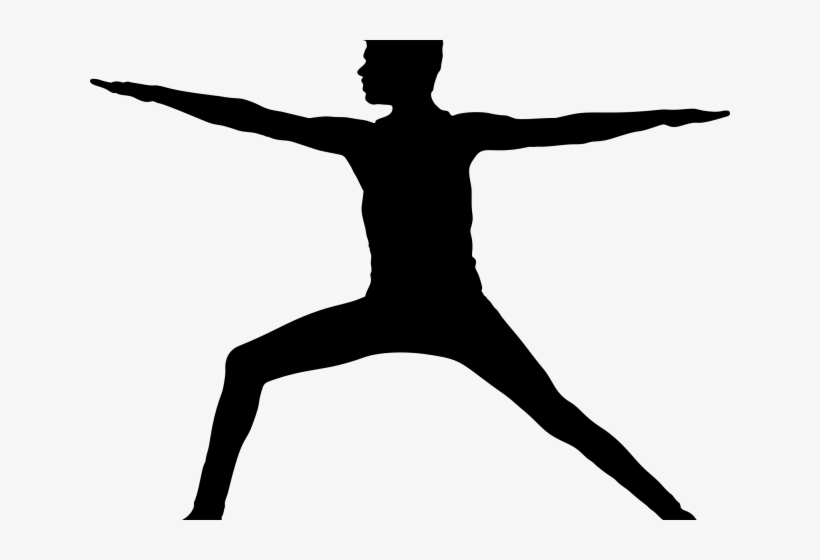 Yoga Clipart Silhouette Yoga Person Silhouette Png Png Image Transparent Png Free Download On Seekpng