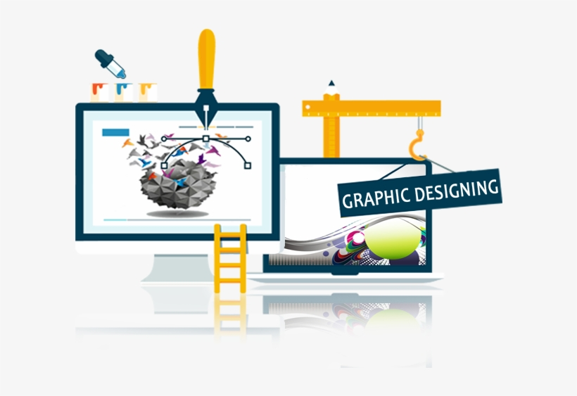Graphic Designing Services In India Creative Web Design Banner Png Image Transparent Png Free Download On Seekpng
