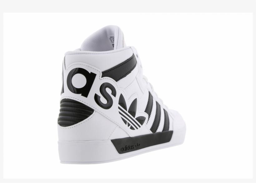 Continental éxito Leche  Mens Adidas Hardcourt Hi Big Logo - Skate Shoe PNG Image | Transparent PNG  Free Download on SeekPNG