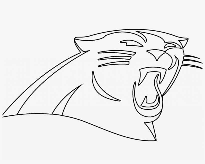 Download Carolina Panthers Coloring Pages - Panthers Logo ...