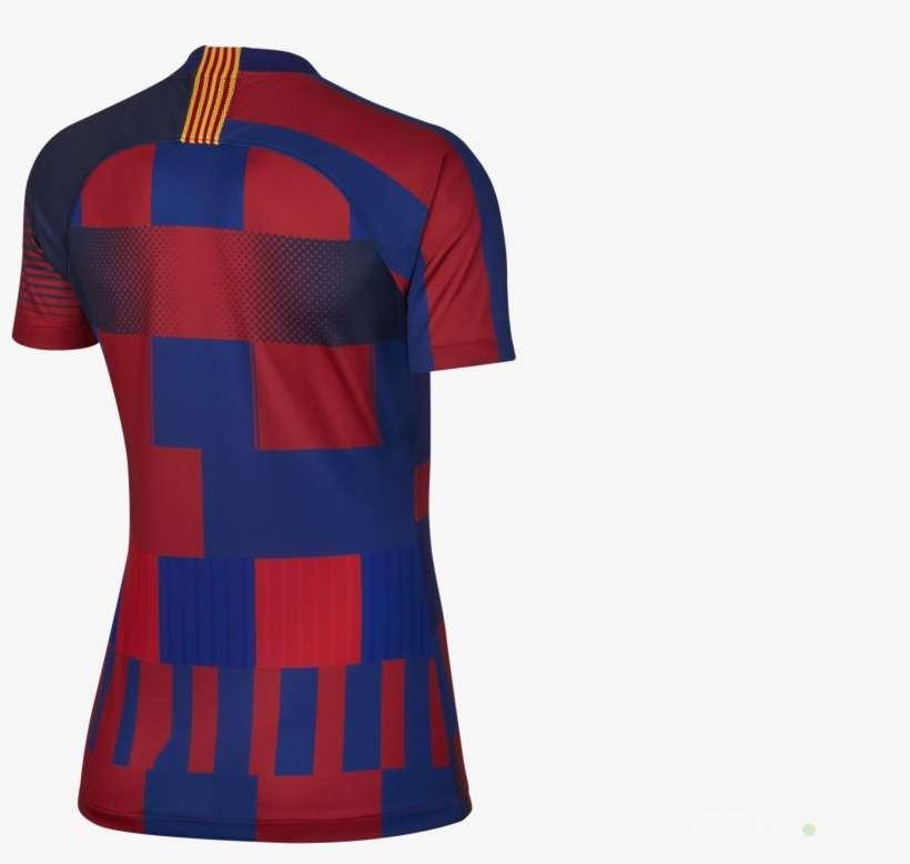 T Shirt Nike Fc Barcelona Breathe Stadium Dsr Women Polo Shirt