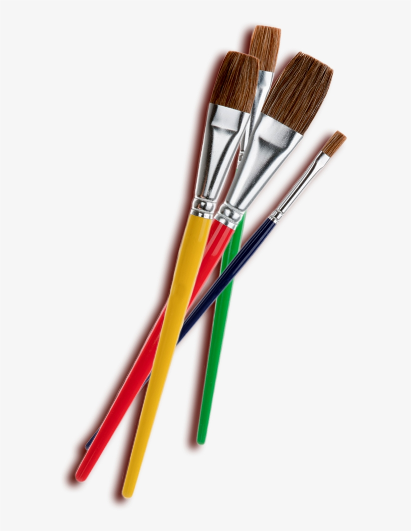 Paintbrushes - Paint Brushes Clipart Png@seekpng.com