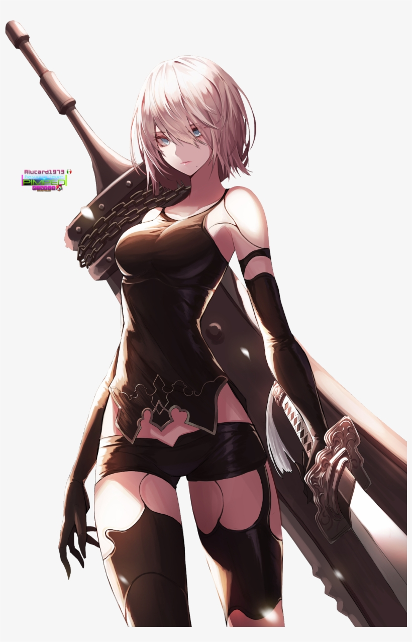 Nier Automata A2 Wallpaper Phone Png Image Transparent Png Free