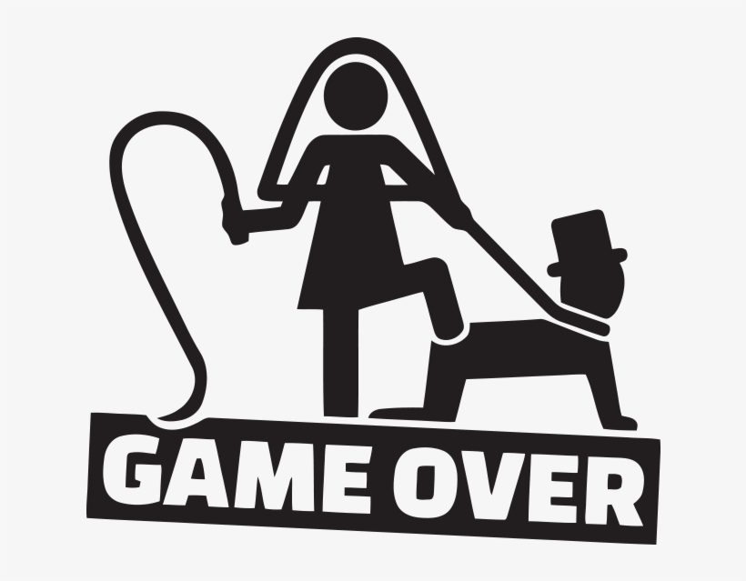 Stiker Za Kola Game Over Wedding Game Over Vector Png Image Transparent Png Free Download On Seekpng