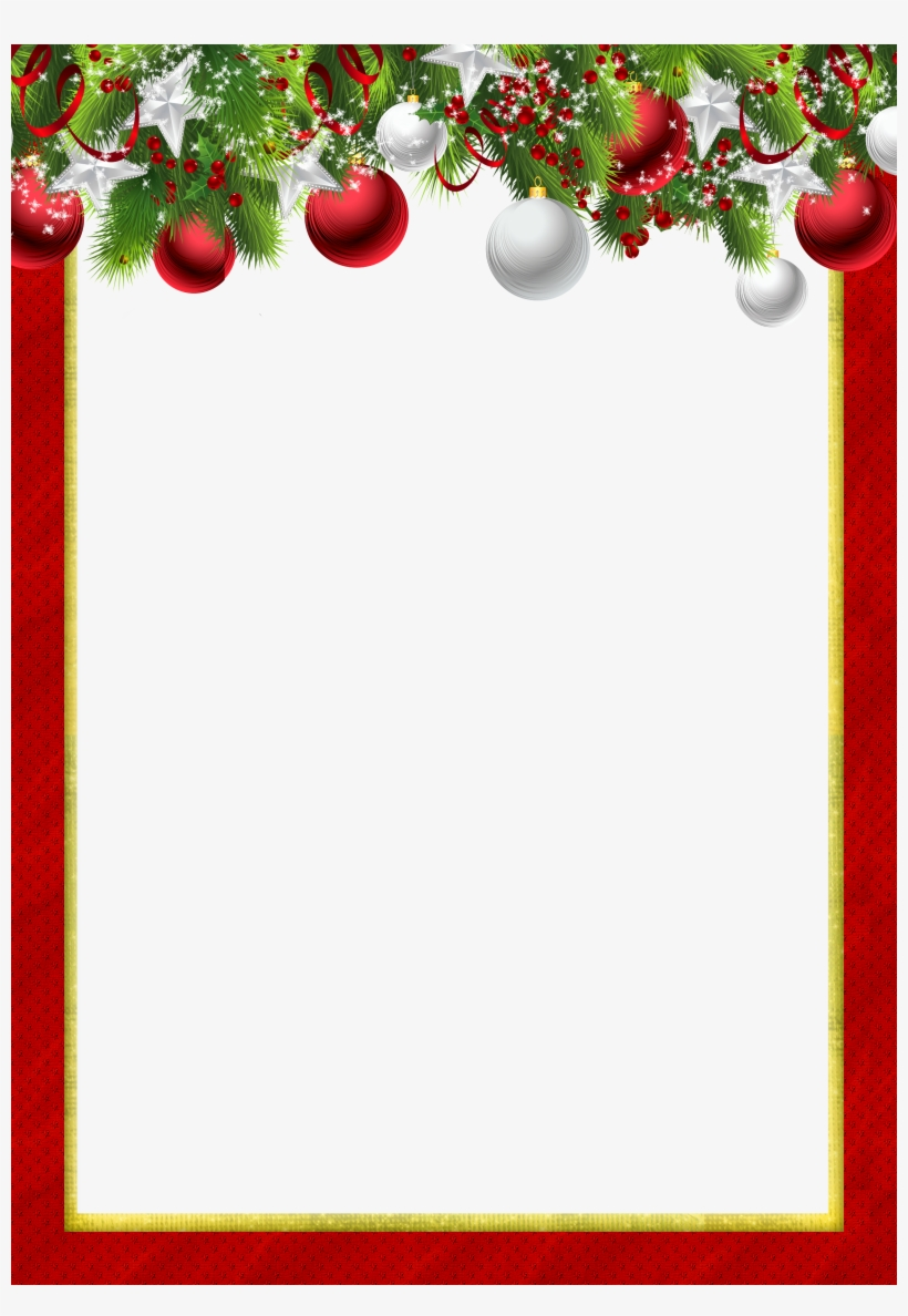 Image Royalty Free Stock Christmas Picture Frame Clipart Christmas Frames And Borders Red Png Image Transparent Png Free Download On Seekpng