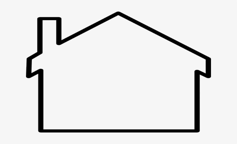 Black And White Outline Clip Art House Outline Transparent Png Image Transparent Png Free Download On Seekpng