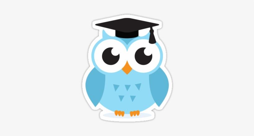 Blue Owl Png Buhos Animados De Graduacion Png Image Transparent
