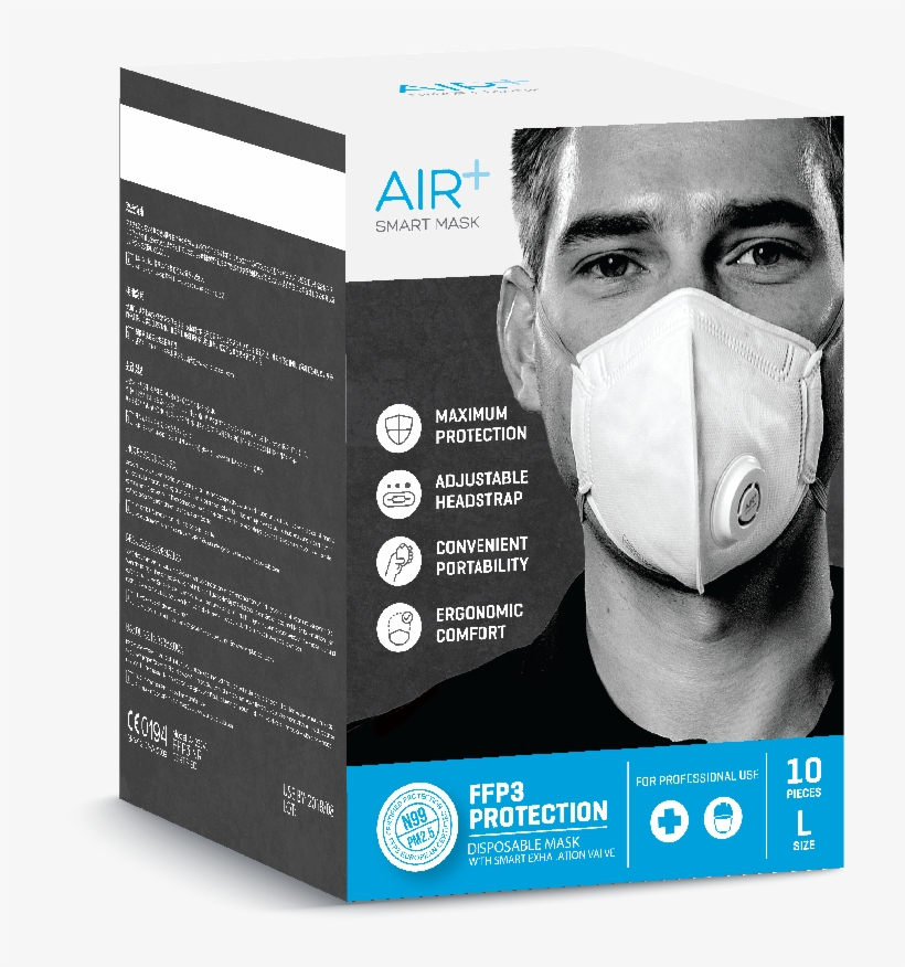 n95 air mask with valve