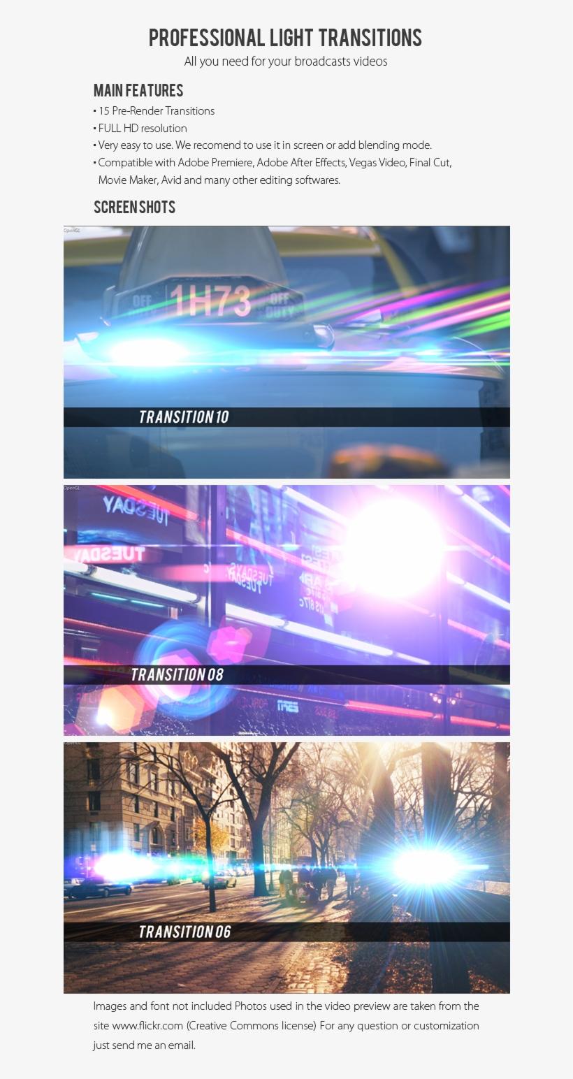 Template, Full Hd, Leak, Bokeh, Lens, Light, Retro, - Light PNG