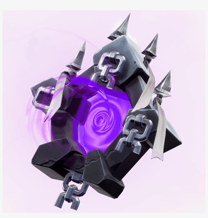 Ghost Portal Back Bling Backpacks Fortnite Skins Png - Skull