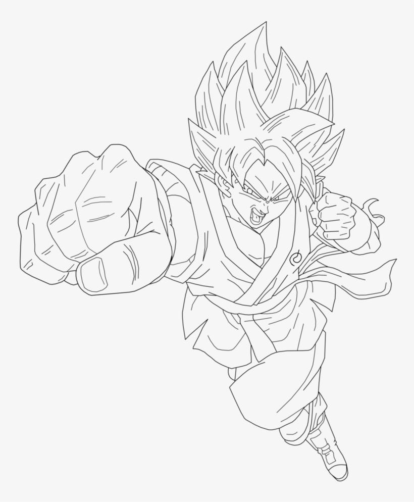 Coloring and Drawing: Coloring Pages Of Goku Super Saiyan ...